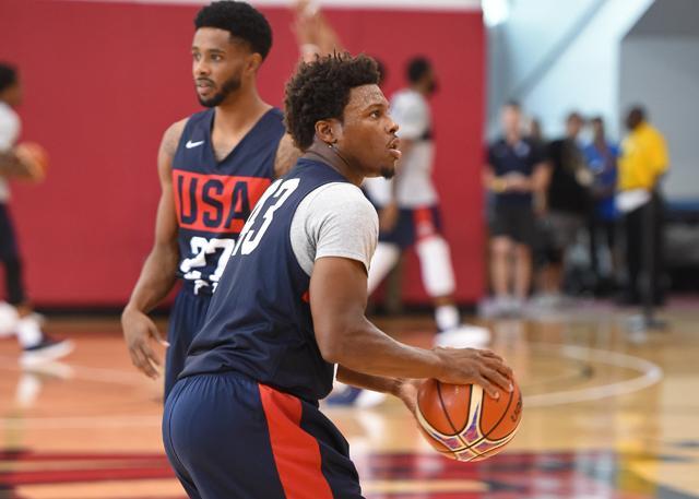洛瑞避谈德罗赞交易 努力当美国男篮领袖
