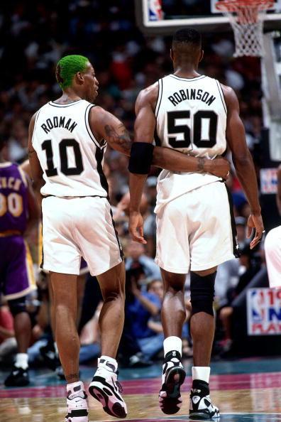 NBA50大球星之罗宾逊:圣城救星海军上将