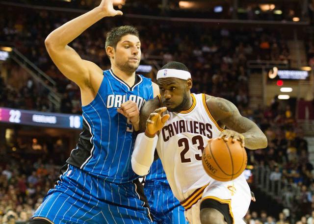 武切维奇称赞詹姆斯是世界上最佳篮球运动员