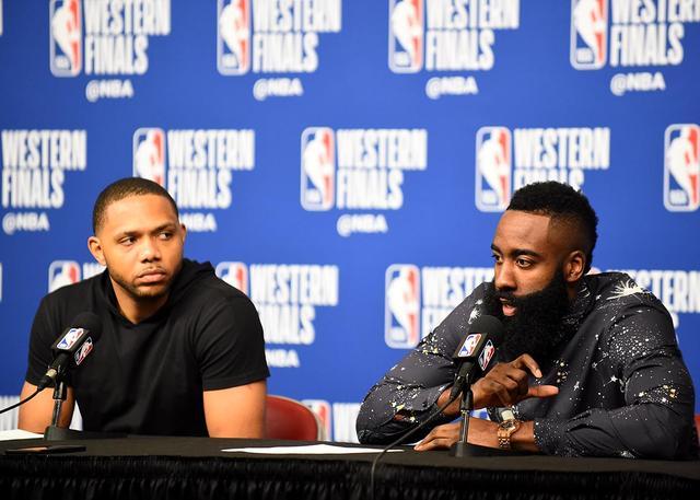哈登:不在乎投篮失准 防守为我们带来胜机