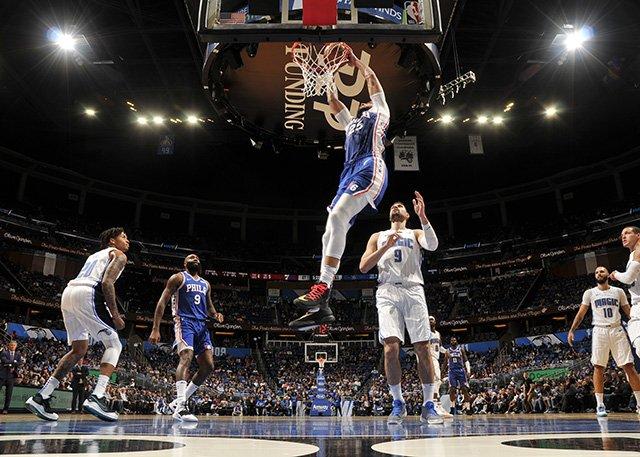 Vucevic 25+12,Gordon 18+13,Fultz 8+4,魔術掀翻76人(影)-黑特籃球-NBA新聞影音圖片分享社區