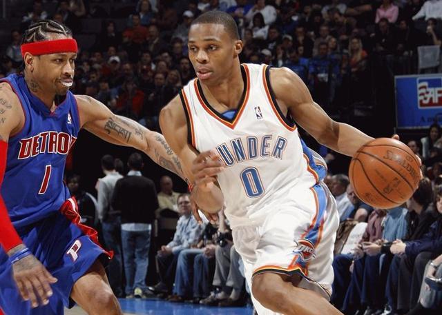 艾弗森:威少是我最喜欢的NBA球员
