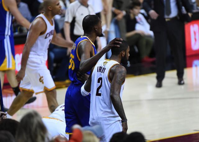 杜兰特:骑士的困境只是NBA中的常规问题