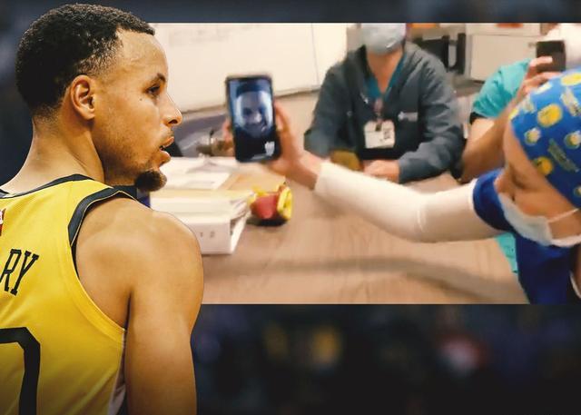 库里视频连线 为奥克兰前线医护送上鼓励_NBA中国官方网站