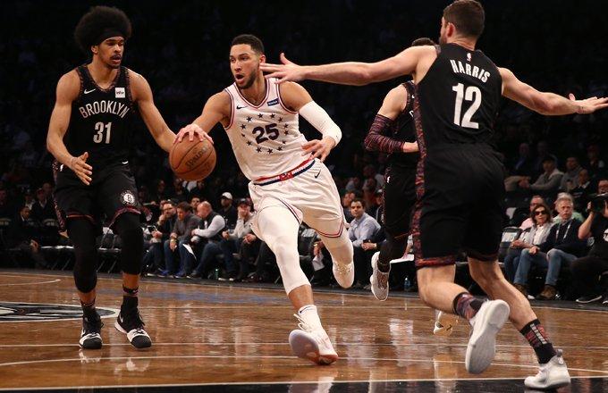 回擊噓聲瘋狂挑釁!Simmons開局出色結尾火爆,轟31+9創季後賽得分紀錄!(影)-籃球圈