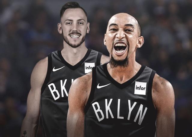 篮网签下米切尔-克里克和乔丹-麦克劳克林