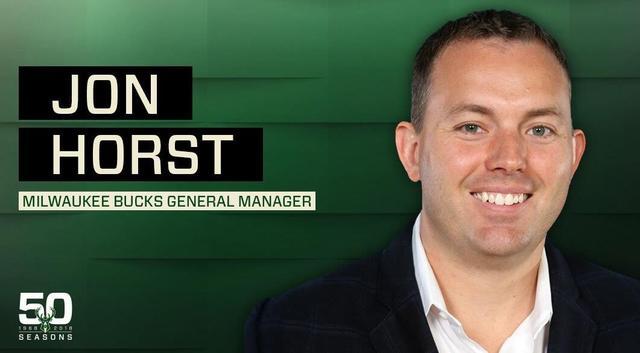 官宣:乔恩-霍斯特正式成为雄鹿总经理