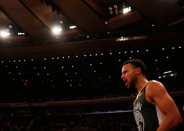 6記三分甘當綠葉! 紐約球迷欣賞Curry沒過癮(影)