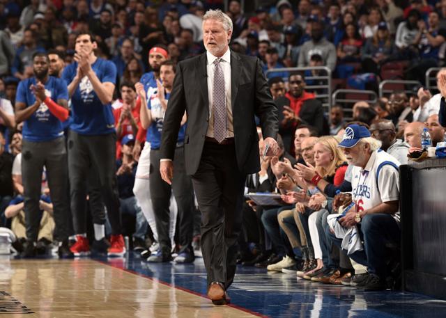 获老板肯定 布朗教练下赛季将继续执教76人