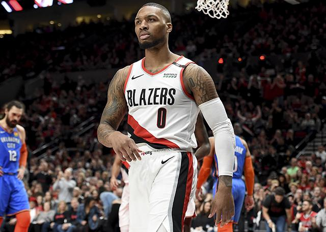 关键三分力挽狂澜 利拉德率队战胜克星 NBA新闻
