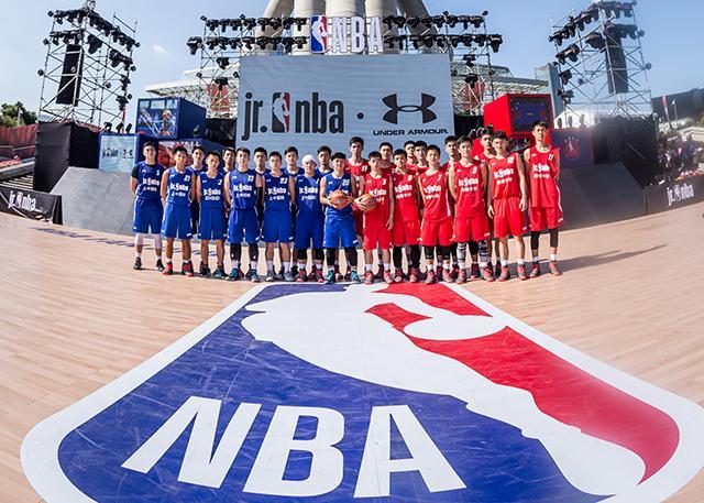 2017-2018 Jr. NBA联赛上海站本周五揭幕