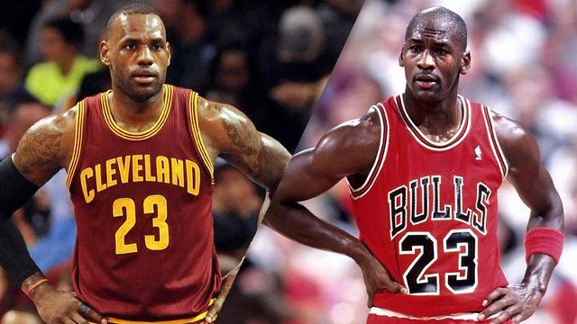 专栏:詹姆斯和乔丹的总决赛对手谁更强?