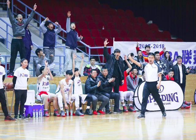【球队故事】外事学校:我们的青春 因为篮球而精彩!