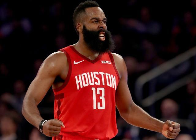 火箭常规赛总结:超神哈登率火箭后发制人 NBA新闻
