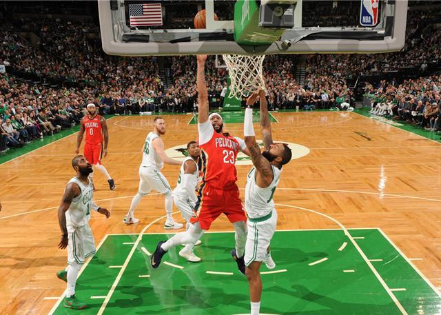 浓眉哥狂砍45分16板 鹈鹕加时险胜凯尔特人_NBA中国官方网站