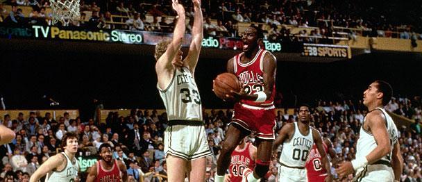 """NBA编年史之1982-1986:""""篮球之神""""诞生"""