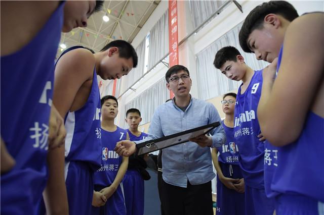 扬州蒋王中学顶住压力挺进四强