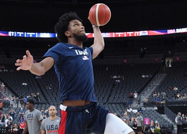 曝马文-巴格利退出美国男篮以专注于新赛季