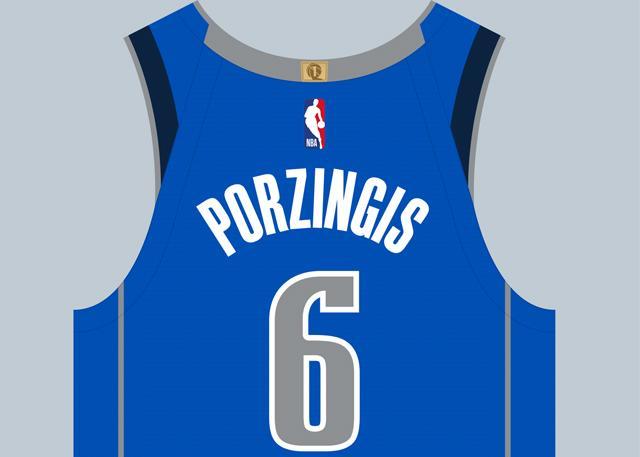 新援号码确定 波尔津吉斯将身披6号战袍