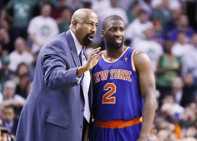 费尔顿谈伍德森:他是一位教练 更像一位父亲