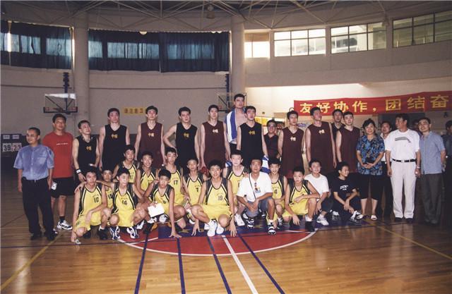 2003年中国男篮在北师大南山附校集训