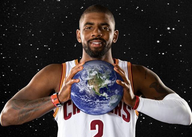 打篮球的不懂科学?欧文:我只是想搞个大新闻