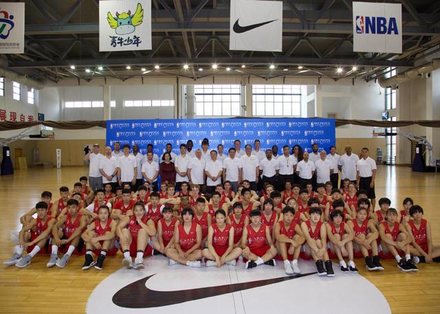第四届耐克亚太精英篮球训练营杭州开营