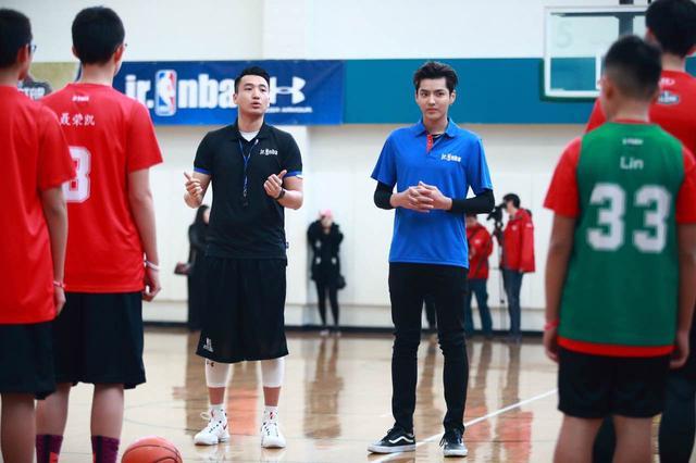 Jr.NBA中国导师团成立,人气巨星吴亦凡加盟