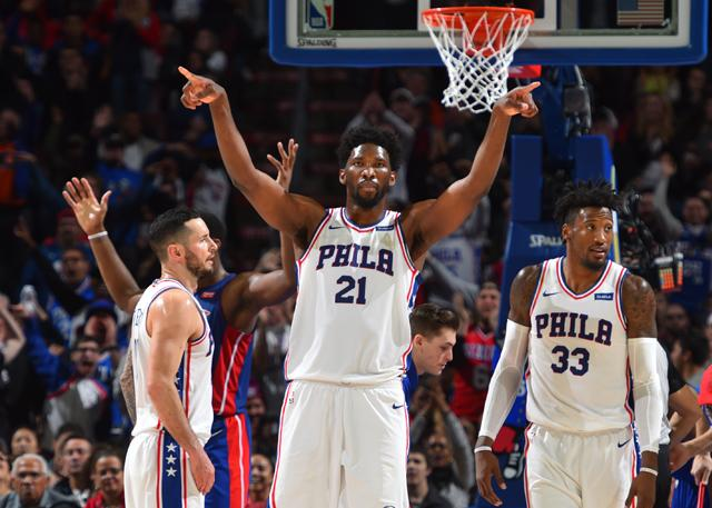 帝之宣告 恩比德:我就是篮球界最强大个!