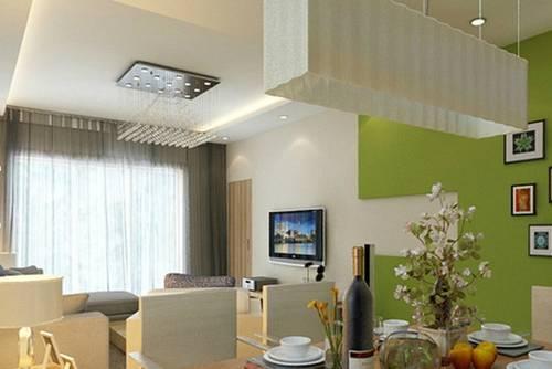 小户型客厅电视墙效果图