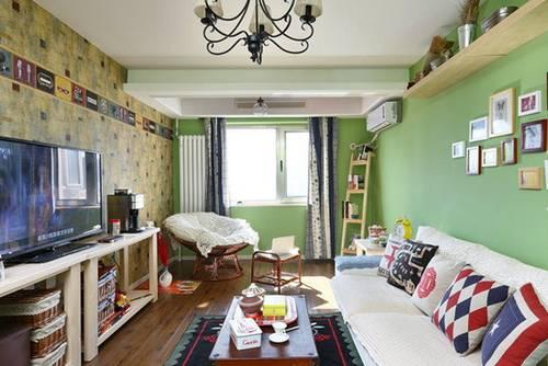 小户型客厅电视墙效果图高清图片