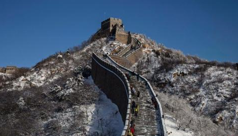 """北京干渴90天终迎初雪 雪后气温骤跌将遇""""冰冻周"""""""