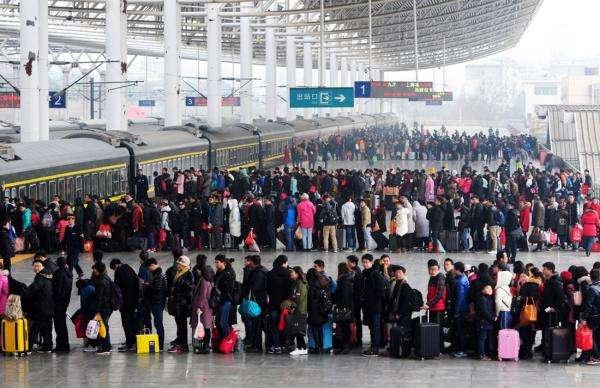 2017年春运北京铁路局发送旅客3150万