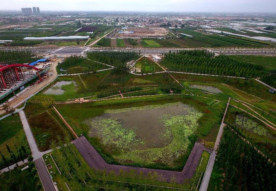 以新发展理念建设海绵城市