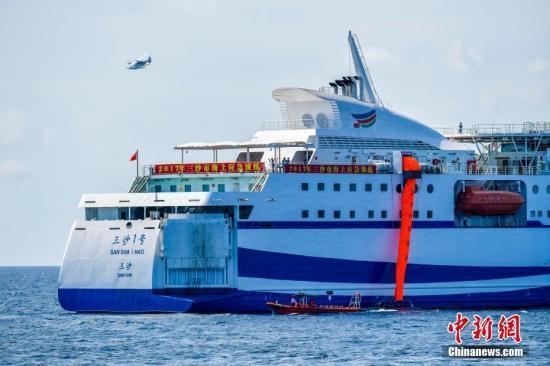 2017年三沙海上交通安全形势持续稳定 救助成功率100%