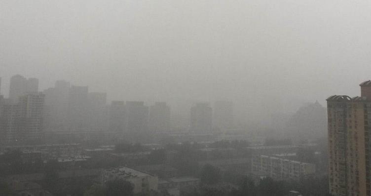 北京发布今夏首个洪水预警 受强降雨影响多地山体塌方