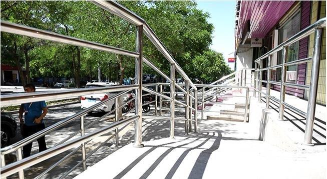 金昌市公共场所无障碍设施改造率达到80%以上
