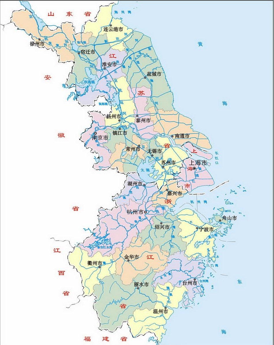 """沪苏浙规划跨省城镇圈 长三角一体化进入""""深水区"""""""