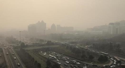今年前七月空气质量相对较差20城公布