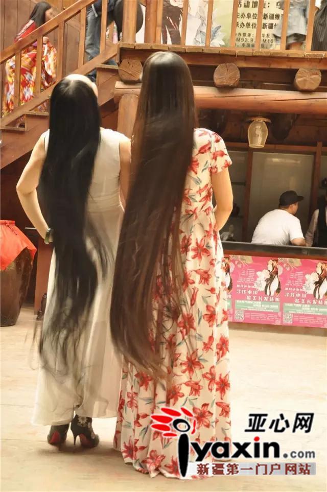 首批中国最美长发姑娘新鲜出炉图片