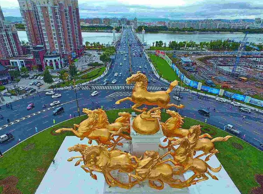 牡丹江:拓路建桥 拉开城市发展新框架