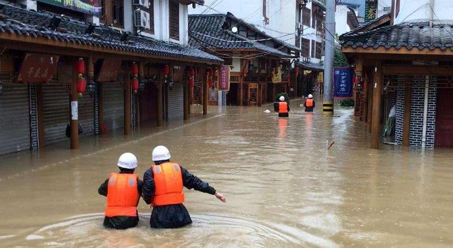 强降雨袭击甘肃 临夏13人死亡3人失踪