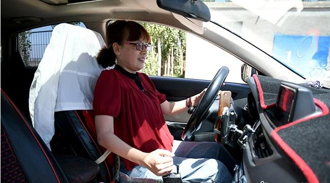 金昌市残疾人驾校圆了297名残疾人的驾车梦