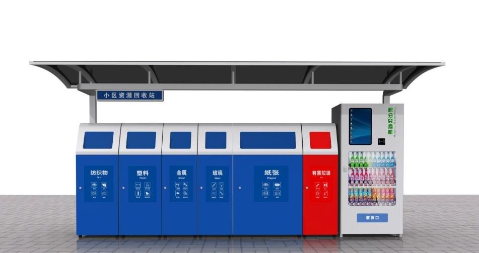 上海这种智能垃圾厢房有点牛:刷卡自动开箱,还能大数据分析