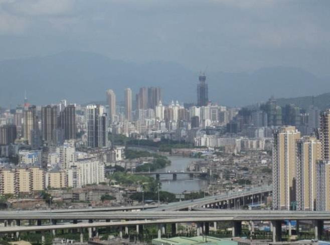 福州城市发展舒筋展骨 拉开框架新区新城平地起