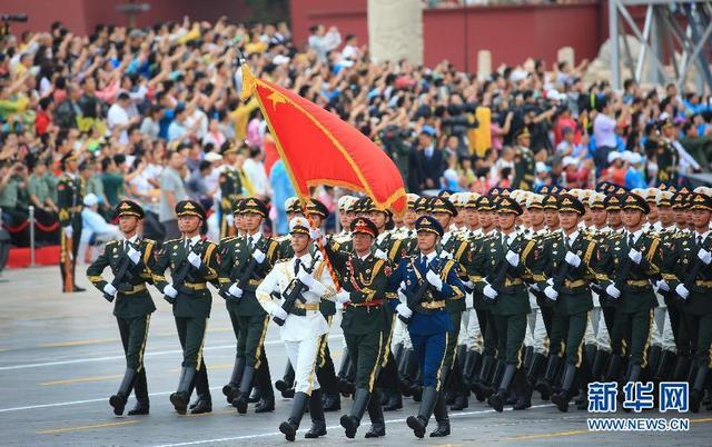 (时政)(2)纪念中国人民抗日战争暨世界反法西斯战争胜利70周年大会专项演练顺利举行