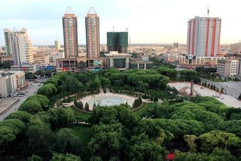 新疆加快森林城市建设
