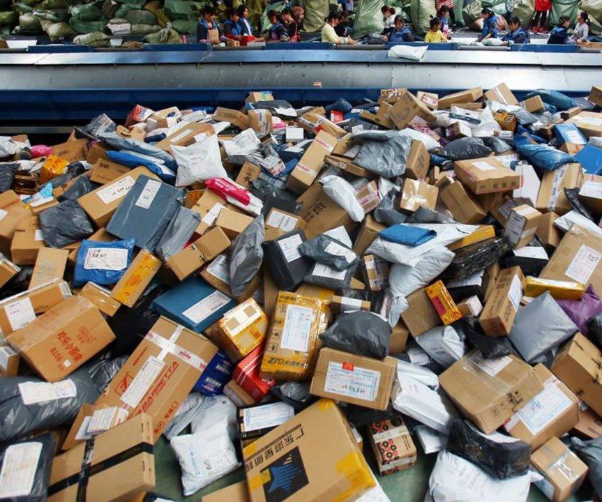 双十一快递成瓶颈 今年预超10亿件