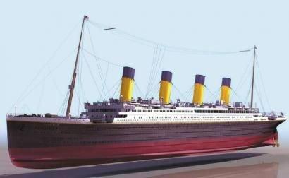 全球首艘原比例建造泰坦尼克号将永久停留四川