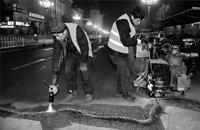 """长春开始给路面坑槽""""整形"""" 43条主干路维修"""